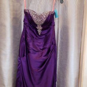Petite prom dress